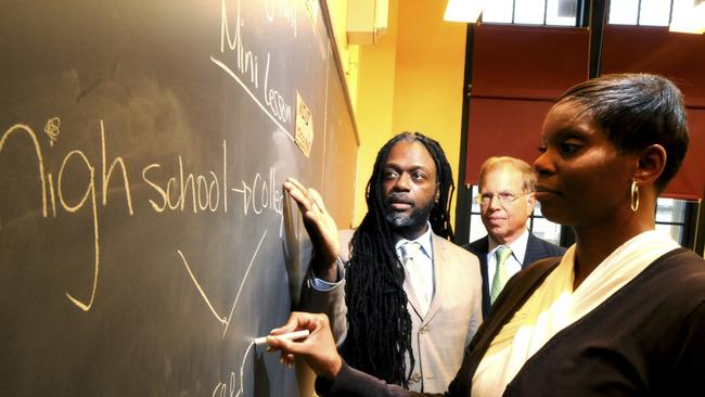 New learning ... the P-Tech High School in Brooklyn, New York. Picture: Supplied