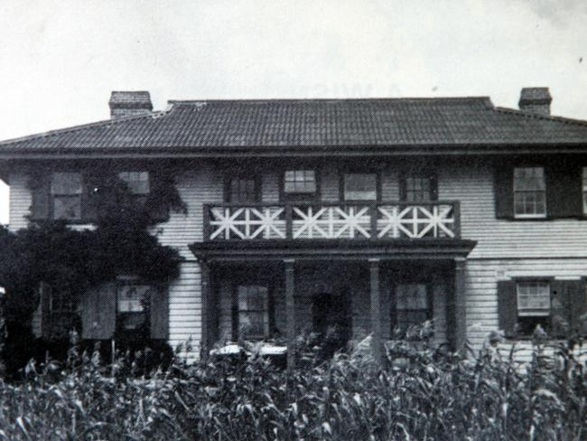 The Principal's residence at Fairbridge Farm School. Picture: Graham Crouch
