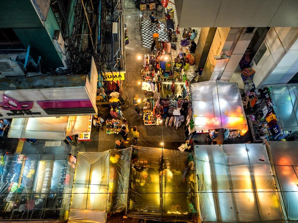 """Local night market in Thailand. Mostly tourists come here to shop and bargain."" Picture: Copyright: Zhu Lin Ch'ng, Malaysia, Shortlist, Youth Culture, 2016 Sony World Photography Awards"