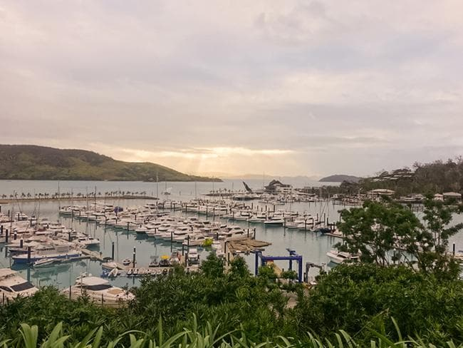 Hamilton Island was a must-see spot. Picture: Natalie Tuck/Big 4