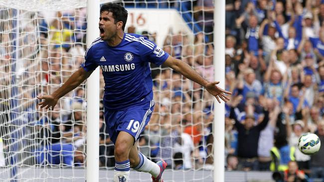 Chelsea's Brazilian-born Spanish striker Diego Cost.
