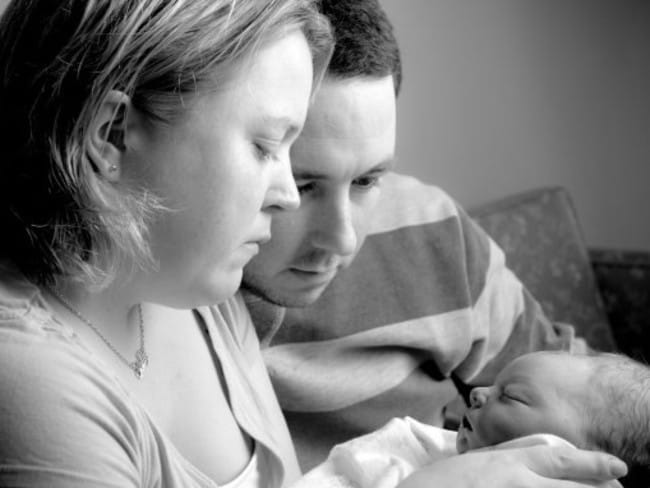 The Hepplestons had this picture taken with Hope by Gavin Blue from Heartfelt, a volunteer organisation dedicated to 'giving the gift of photographic memories to families that have experienced stillbirth.'