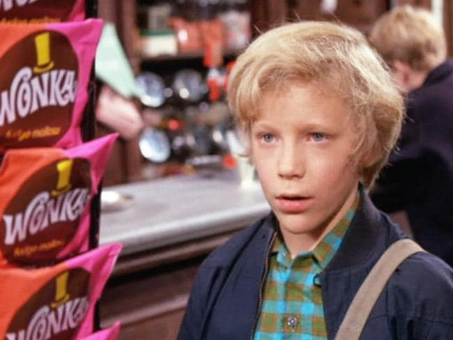 Charlie loved his Wonka bars.