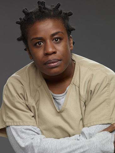 Uzo Aduba plays the fan favourite character and insisted she isn't angry at Hough.