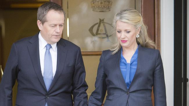 Now over ... Bill Shorten's statement in Melbourne yesterday should be the end of the matter, his Deputy Tanya Plibersek believes. Picture: Nathan Dyer/News Corp.