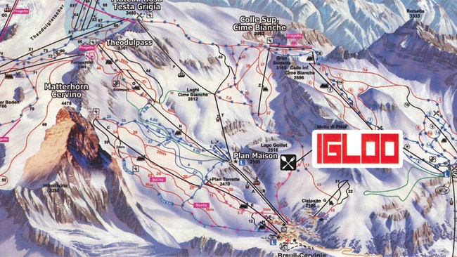 Igloo is situated at an altitude of 2400m. Picture: Igloo