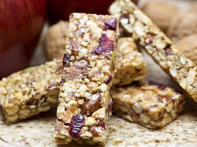 While they're easy to grab on the go, muesli bars aren't always the healthiest choice.