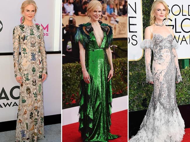 Nicole Kidman has been nailing her red carpet appearances this year.