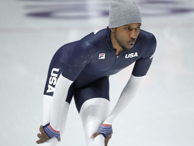 Shani Davis of the United States. Picture: AP