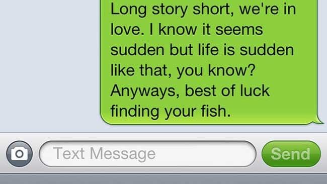 Just know there are more fish in that sleazy ocean out there.