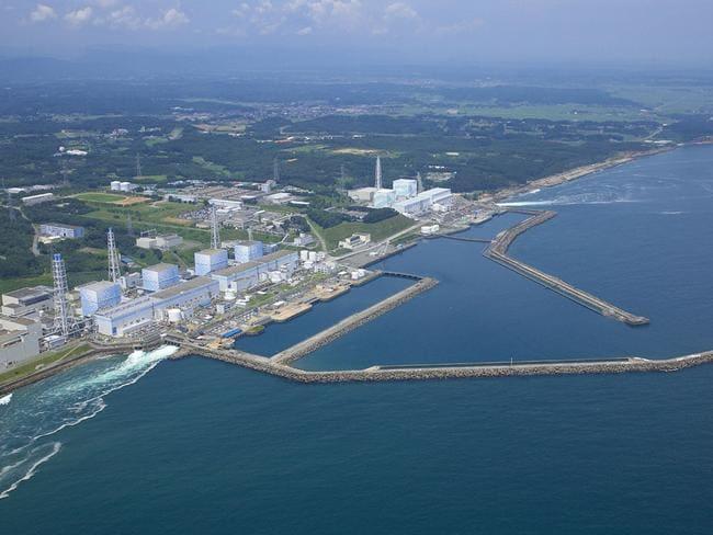 The Fukushima Dai'ichi plant.
