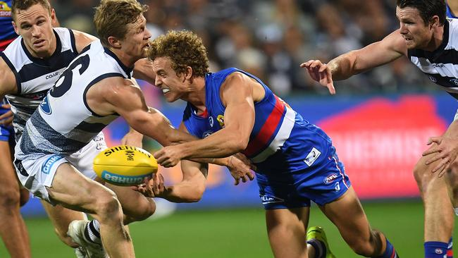 The Bulldogs didn't win but Mitch Wallis was a standout in his return from injury.