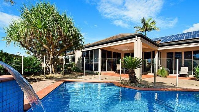 6 Montserrat Court Clear Island Waters Queensland will be auctioned on Saturday. Picture: realestate.com.au