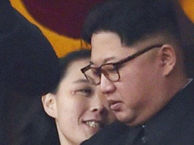 The youngest Kim remains a trusted aide to her leader brother. Picture: Minoru Iwasaki/Kyodo News/AP