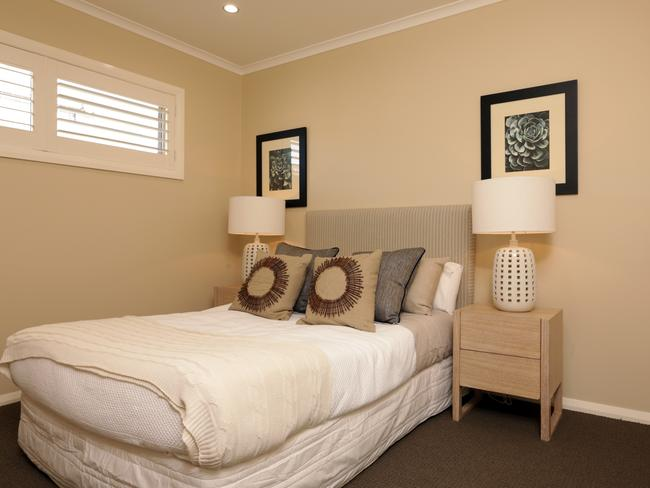 One of the secondary bedrooms at the Sheffield 25 display home. Picture: John Fotiadis