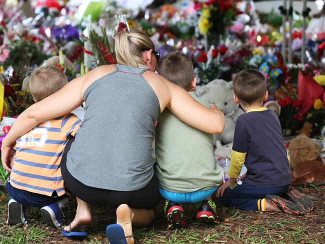 Families mourn lost kids in Cairns after the stabbing of 8 children. Source: Supplied