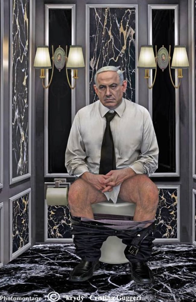 Israeli leader Benjamin Netanyahu might make this face again when he sees this picture.