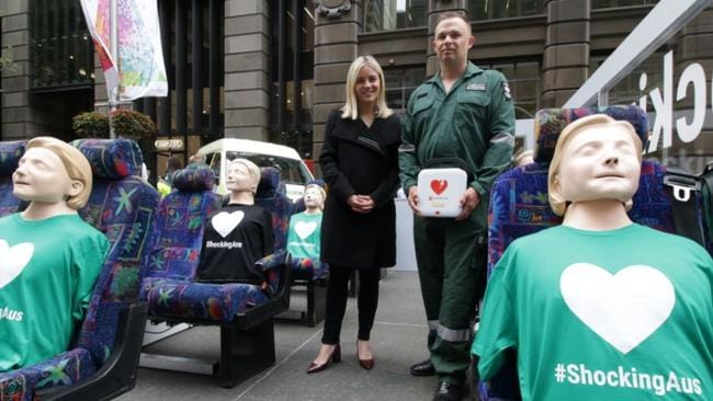 77 per cent of people in NSW want AEDs to be made mandatory on public transport.