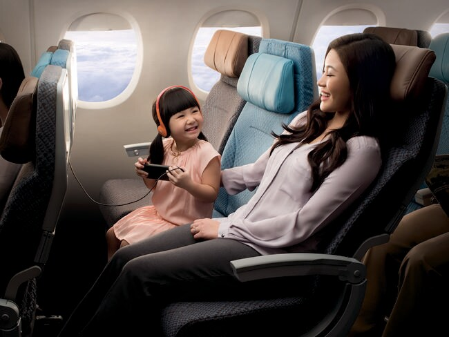 If you're looking for a more generously sized seat, fly with Singapore Airlines where you can.