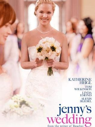 It's come to this ... Did anyone actually see Katherine Heigl's latest movie, Jenny's Wedding? Picture: Supplied