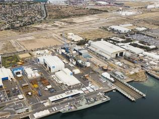 Techport Aerial - Osborne site . Supplied: Defence SA