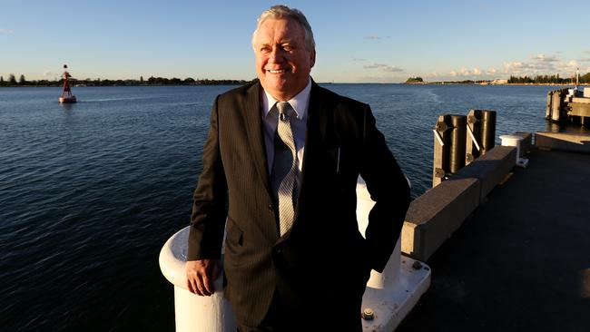 Newcastle Mayor Jeff McCloy allegedly paid $10,000 in cash to Tim Owen and Andrew Cornwell. Picture: Nikki Short