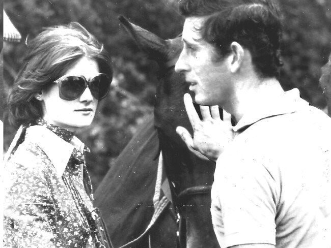 Lady Sarah Spencer and Prince Charles in 1977. Photo: File