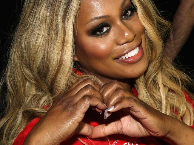 Breaking down boundaries ... Laverne Cox was the first openly transgender person to be nominated for an acting Emmy. Picture: Getty