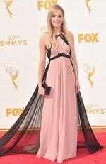 Joanne Froggatt attends the 67th Emmy Awards in Los Angeles. Picture: Getty