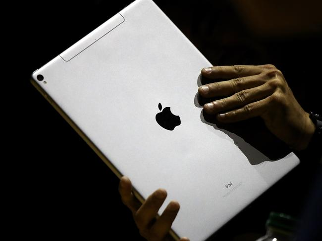 Apple are producing two new high-powered iPads. Picture: Getty Images/AFP