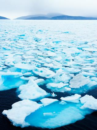Drift ice off the Arctic coast. Picture: iStock