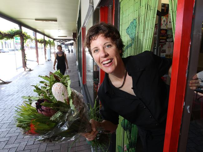 DRAWCARD: Cafe owner Steph Taylor wants the Port to be the go-to place to unwind and explore on weekends.  <b>Picture: TAIT SCHMAAL</b>