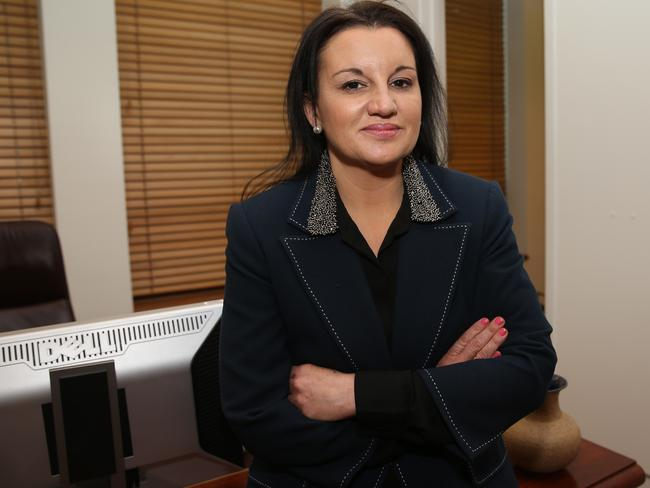 "Chinese are coming ... Palmer United Party Senator, Jacqui Lambie, believes Australia is at risk of a ""Chinese communist invasion."""