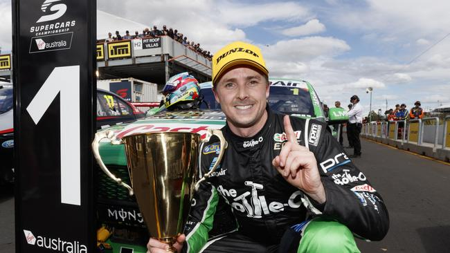 Mark Winterbottom isn't ready to relinquish the V8 crown.