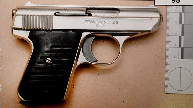 The .22 calibre handgun used to murder Lewis McPherson. Source: Supreme Court.
