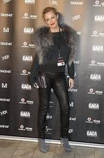 Charlotte Dawson. Lady Gaga, red carpet, Gaga live at Sydney monster hall (town hall), Sydney. Picture: Damian Shaw