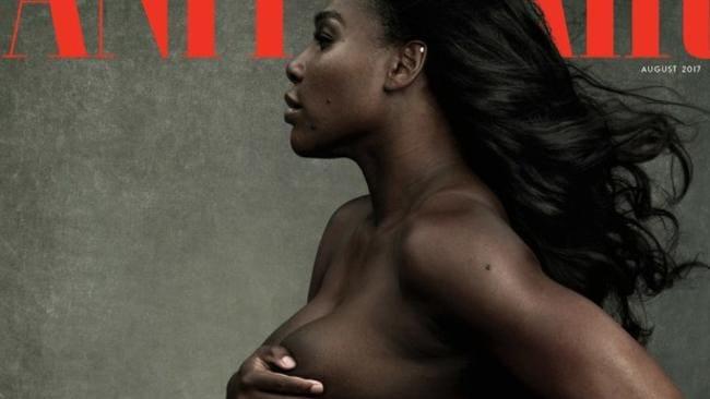 Supplied Editorial Serena Williams. Picture: Vanity Fair/Annie Leibovitz