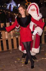 Tara Palmer-Tomkinson attends the Winter Wonderland VIP opening at Hyde Park on November 20, 2014 in London, England. Picture: Ian Gavan/Getty Images