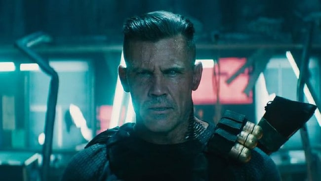 Josh Brolin as villain Cable.