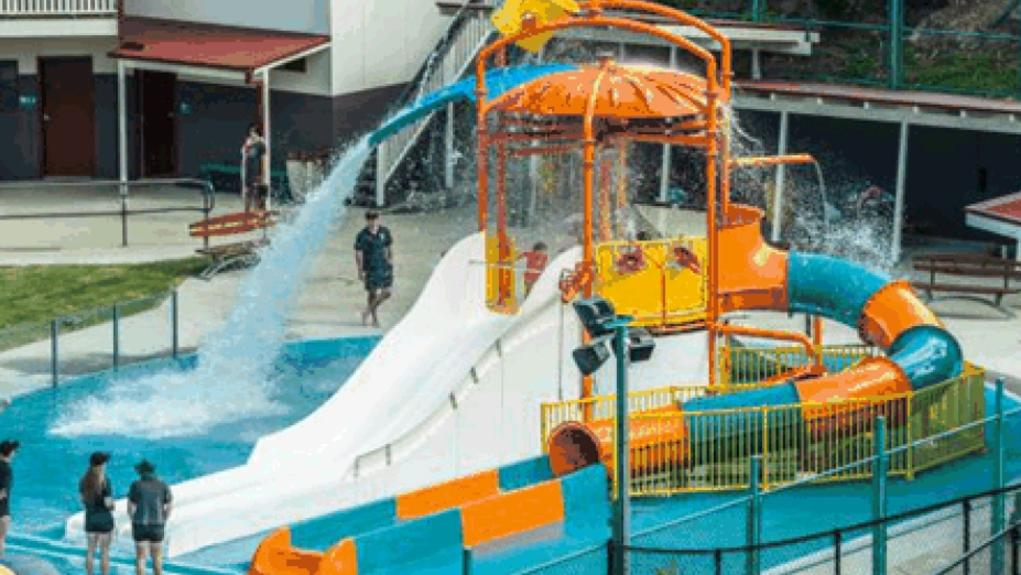 Plan to turn salisbury pool into a gold coast like water for Splash pool show gold coast