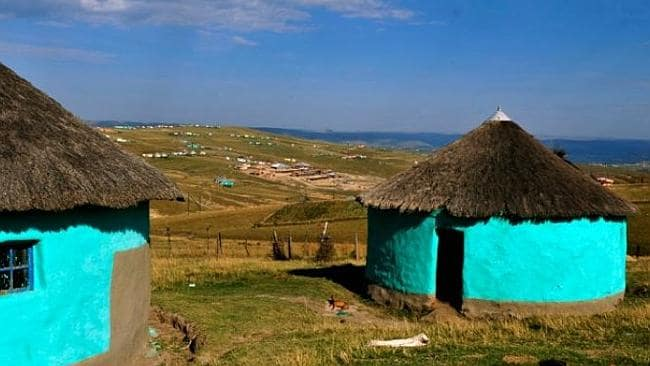 Mandela was born in the village of Mvezo. Picture: Supplied