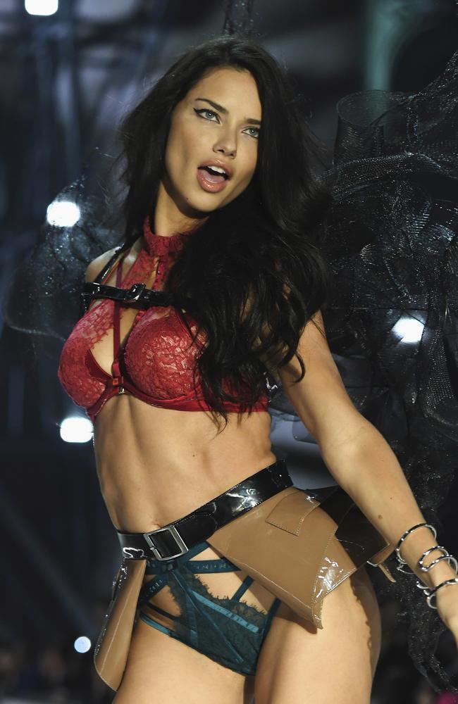 Victoria's Secret angel Adriana Lima.