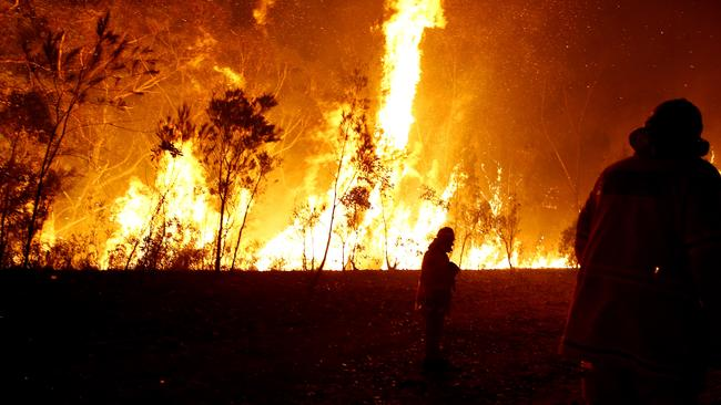 Get ready for a bad bushfire season this year. Picture: Bradley Hunter