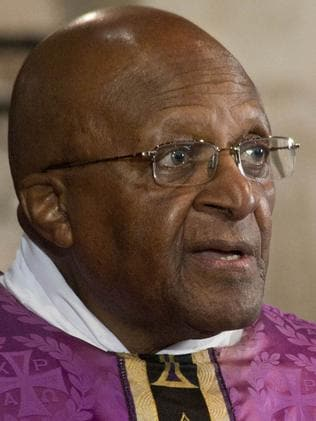 Archbishop Emeritus, Desmond Tutu. Picture: AFP