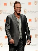 <p>Actor Mickey Rourke poses in the awards room during Orange British Academy Film Awards 2010 at the Royal Opera House on February 21, 2010 in London, England. (Photo by Ian Gavan/Getty Images)</p>