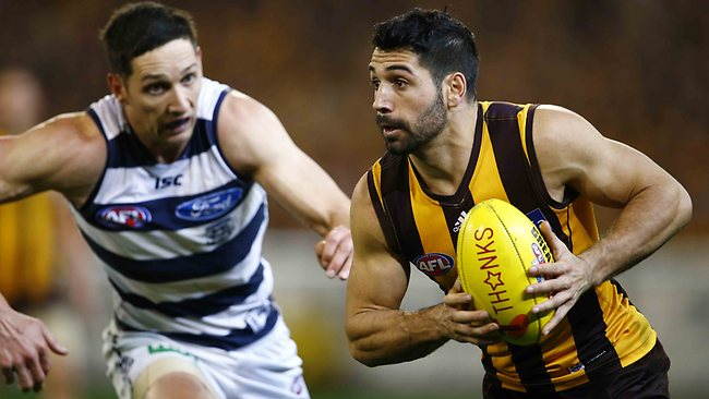 Paul Puopolo has been a great get for the Hawks at pick 66. Picture: Michael Klein