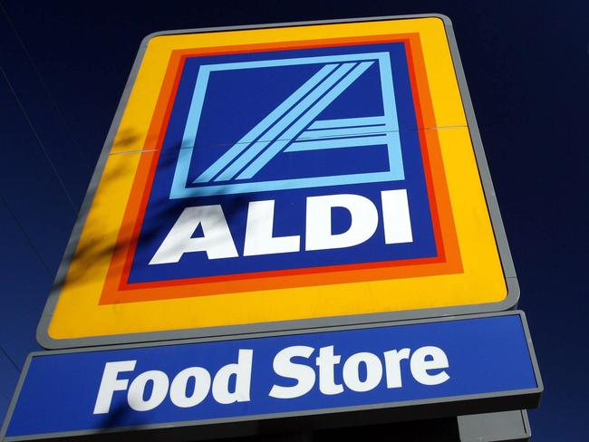 """Aldi is delighted with the """"haul of prizes"""". Picture: News Corp Australia."""