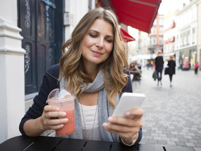 Make the most of wi-fi at cafes.