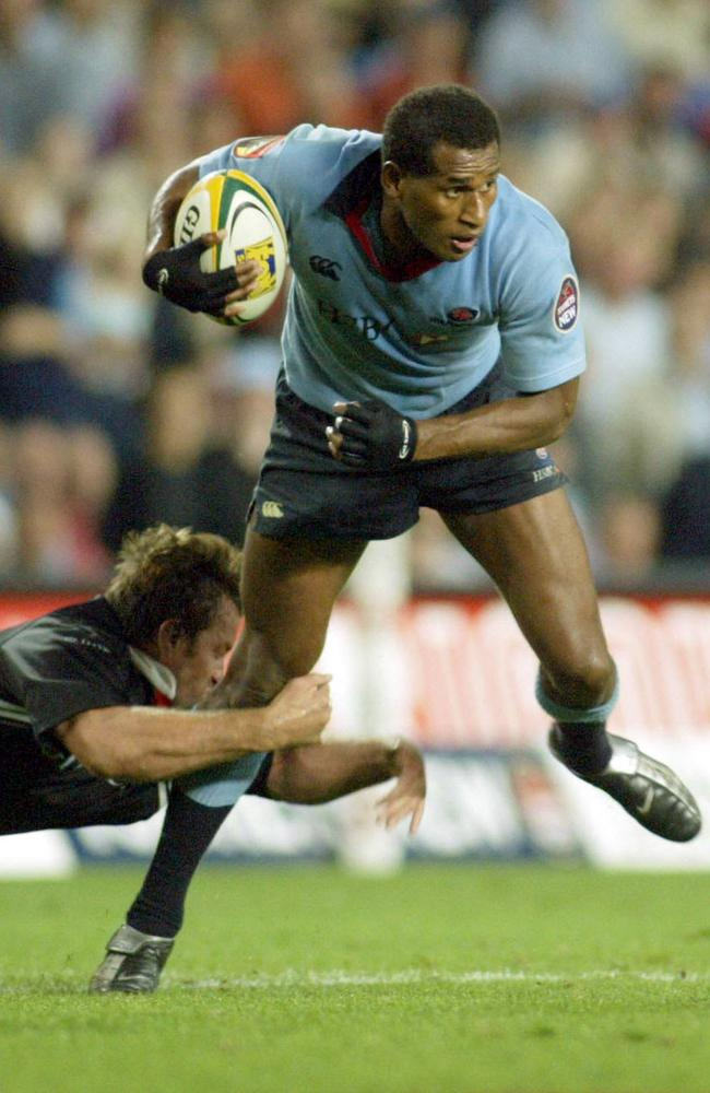 Lote Tuqiri made an instant impact for the Waratahs.