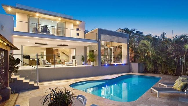 This home at 41 Conifer Cres, Broadbeach Waters, has sold. Pic: realestate.com.au.
